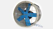 Осевые канальные вентиляторы